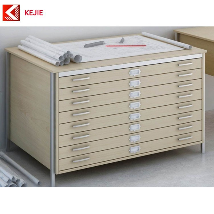 Construction sites use 5 drawer map drawings metal box for Buy blueprint paper