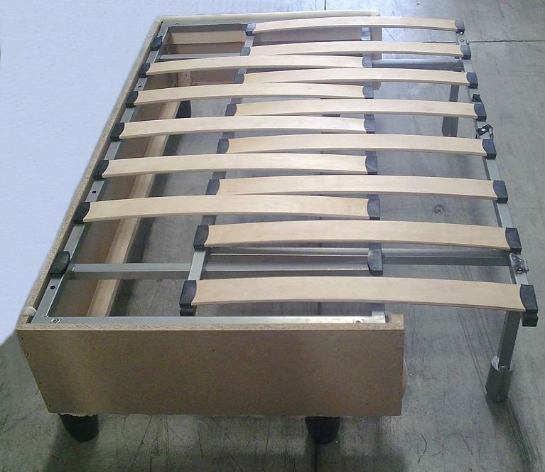 Sofa bed frame dhp the tokyo metal frame daybed and for Sofa bed frame