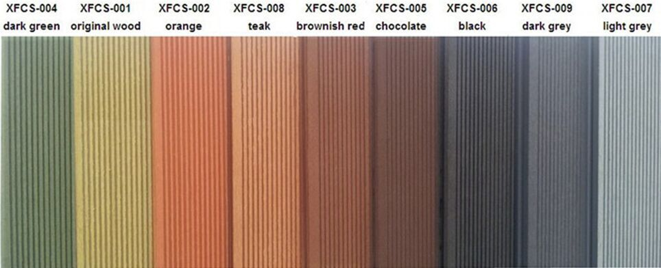 Exterior Waterproof Wood Plastic Composite Floor Board