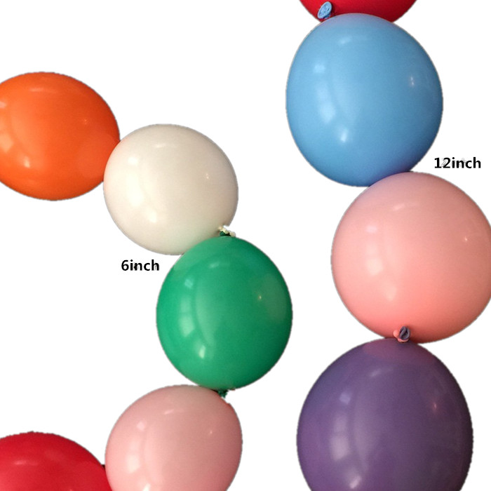 High Quality Durable Rubber Latex Air Balloon Factory Quick Link Balloons  Party Decoration Wholesale Sound Price - Buy Linking Balloon,Quality