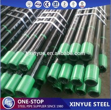 API Spec 5CT Grade J55 NU Thread 3-1/2 Inch Steel Tubing Pipes, API 5CT Approved Oil Well Casing Tubing Pipes