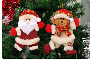 New Christmas tree accessory Dancing cloth puppet Creative Gift Christmas decorations
