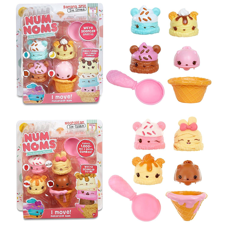 Buy Num Noms Series 1 Ice Cream Bundle Banana Split And Neapolitan