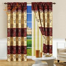 Luxury windows curtains custom made with macrame