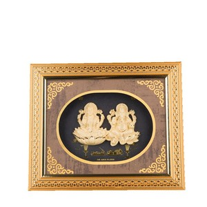 Factory direct sales gold foil sticker ganesha idol photo frame