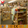 Boutique shop elegant design slatwall display fittings/MDF retail display