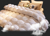 FASHION STYLE COTTON COVER GOOSE DOWN QUILT WITH HIGH FILL POWER