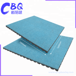 High quality cheap non toxic sbr rubber price car floor mat of crumb rubber