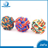 Factory Wholesale Cotton Rope Ball Cat Playing Toy,Pet Dog Toys