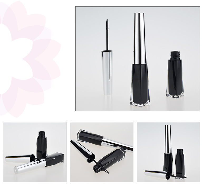 makeup bottle empty container eyeliner eye liner tubes with small capacity