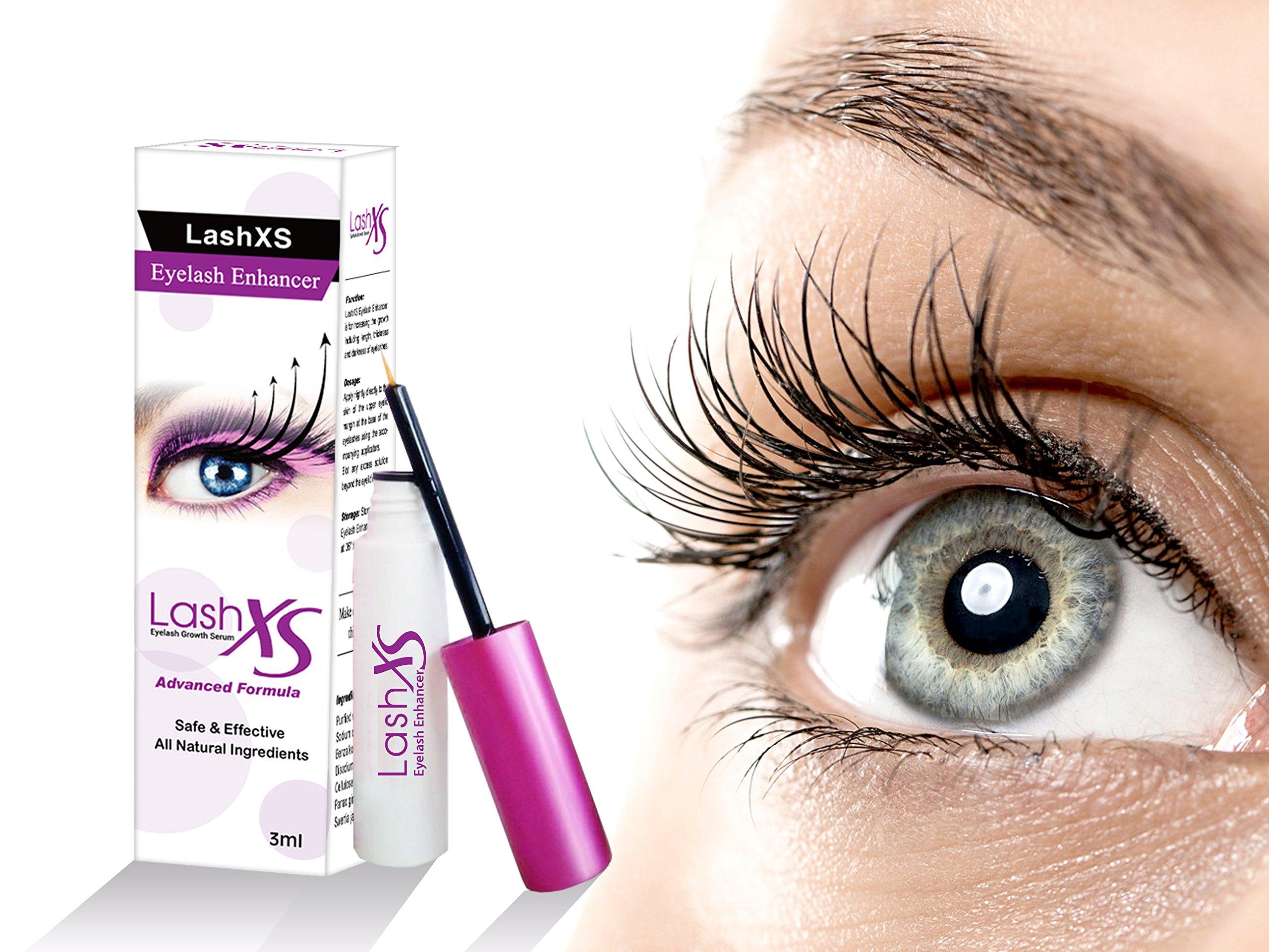 b0614e93152 LashXS Eyelash Serum 3ml | All Natural Advanced Treatment With Powerful  Extracts | Eyelash Enhancing Serum