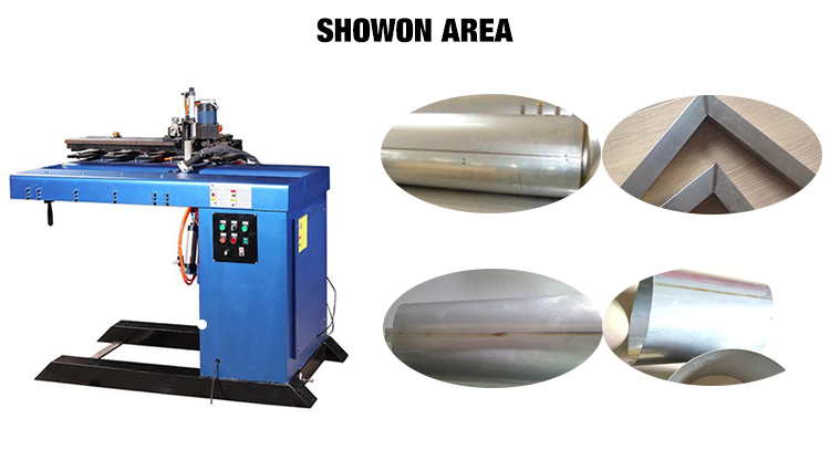 Manufacture Automatic Longitudinal  Straight Seam Welding Machine for solar water heater tank