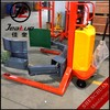 360 deg Rotating 300-1000KG electric barrel lifter forklift with clamp