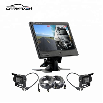 quad monitor camera system mount