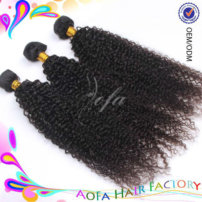 AAAAA grade best price virgin unprocessed soft and smooth wavy pony tail hair
