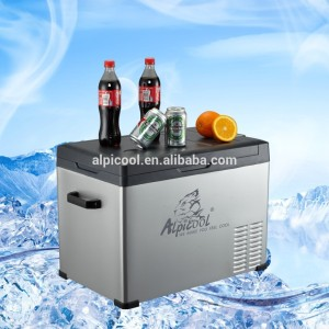 C25-75 12V/24V ACand DC Portable Fridge Freezer With High Quality Compressor Fridge