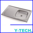 industrial sink units above counter bowl sink manufacture of integrated kitchens YK0951R