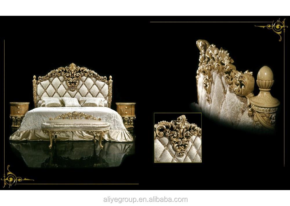 gdm2 001 luxury meubels koninklijke meubels antiek goud slaapkamer