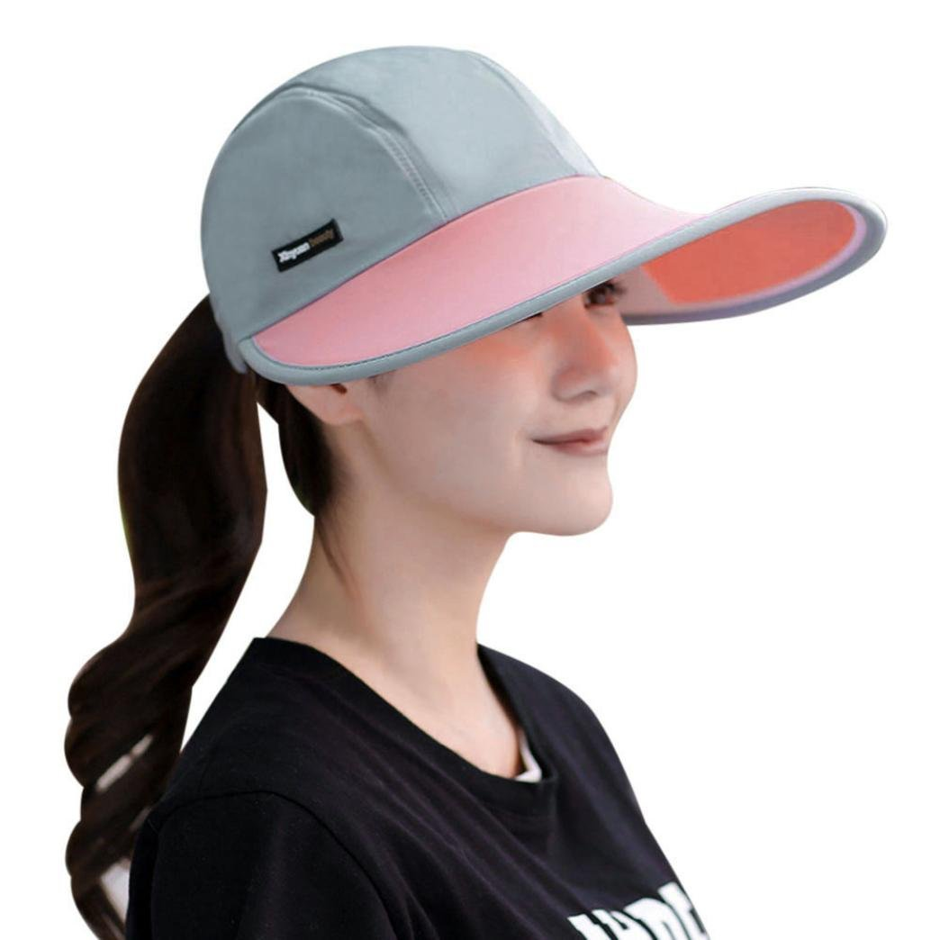 Get Quotations · Creazy Sun Hats Sun Visor Hat Sun Hats With Big Heads  Beach Women Summer Hat ( a916c471763