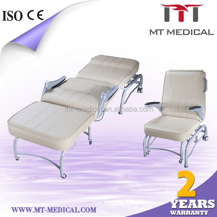 Hospital Sleeper Chair Folding Foam Bed Hospital Recliner Chair Bed
