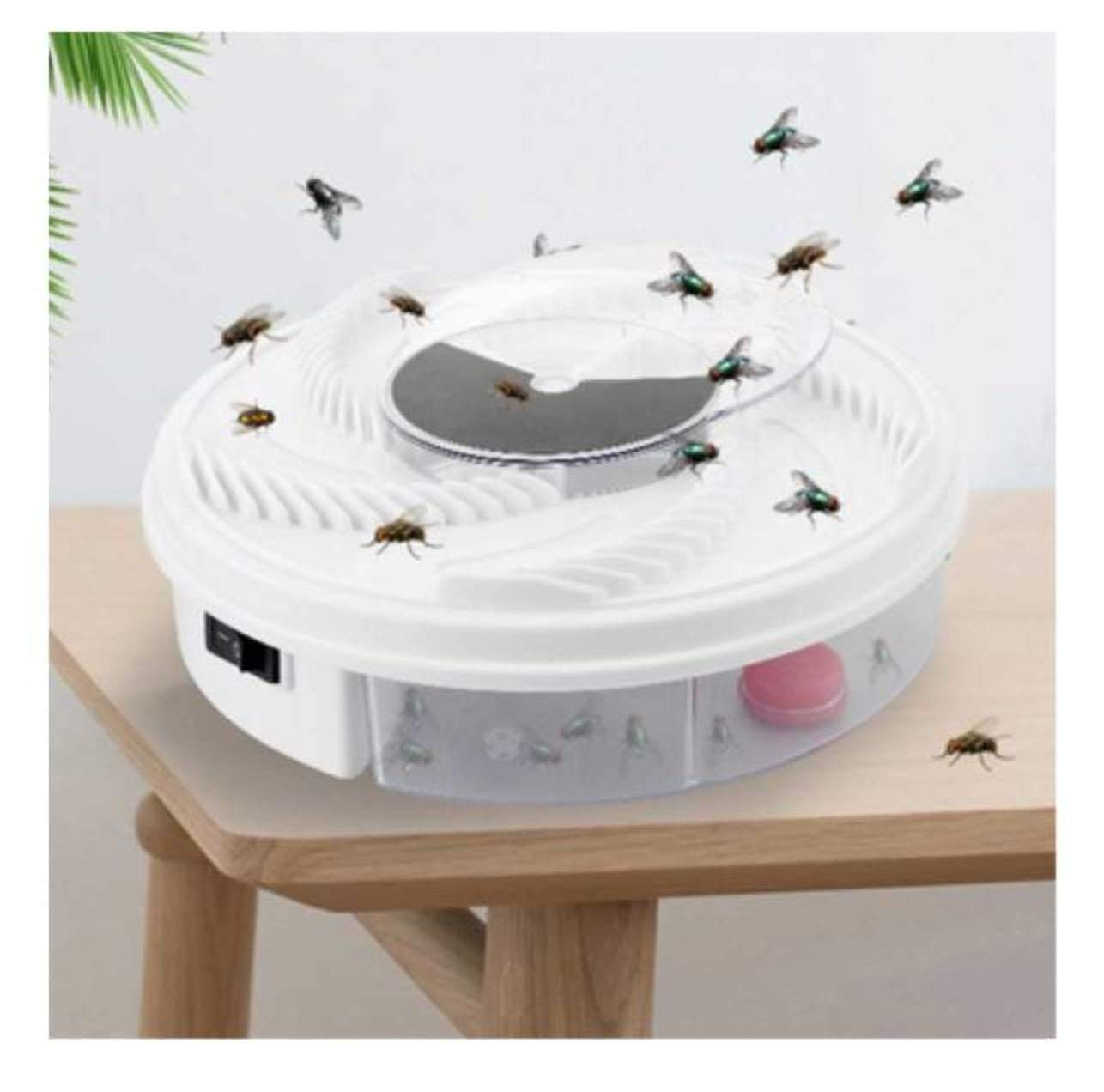 JuiciaTrendz Electric Fly Trap Device with Trapping Food Pest Control Electric anti Fly Killer Trap Pest Catcher Bug Insect Repellents