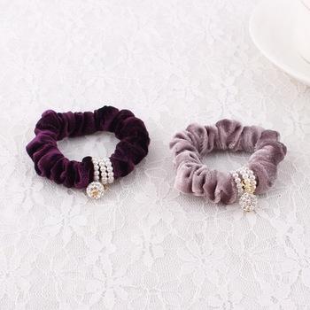 Exquisite Handmade Hair ties Graceful hair ties for girl Showgirl fast sale hair  tie 9c958664daa