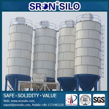 All Safety Sron Cement Silos 100 Ton Cement Silos Of Concrete