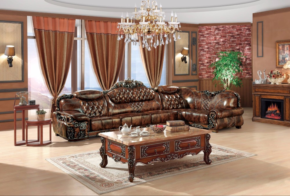 Leather Sofa Furniture Living Room Sofa Set Semi Circle Sofa