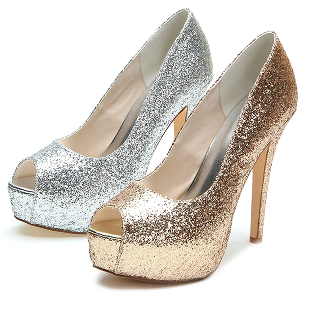 Inch Platform Wedding Shoes