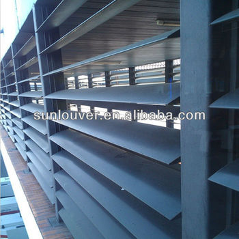 L U003d450mm Adjustable Exterior Aluminum Louvered Shutters Decorative Aluminum Louvered  Shutters