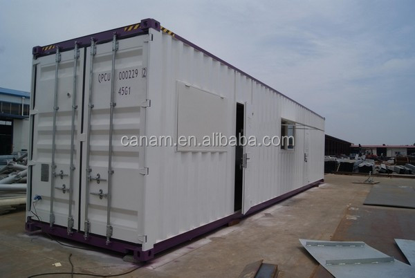 with CE,CSA&AS certificate 40ft steel welding container office for 2016