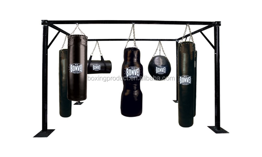 Multi Station Heavy Bag Rack Punching Display Product On Alibaba