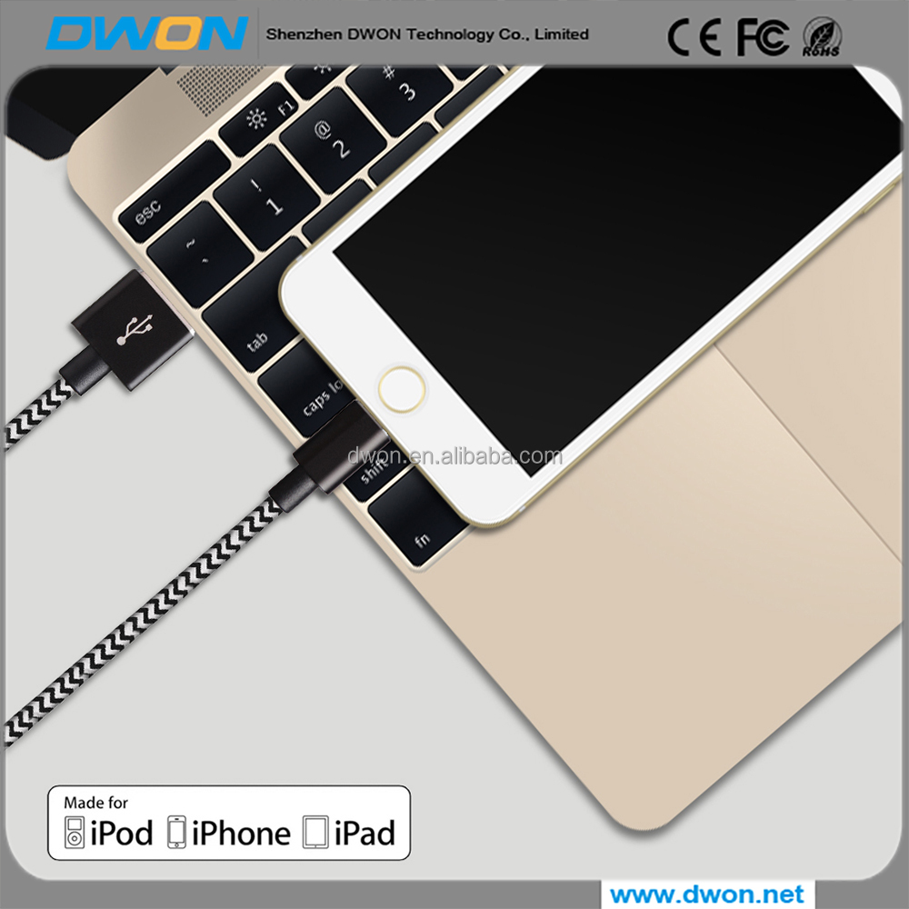 supply cheapest mfi usb data charging cable for iphone 6s 7 bracelet design cable charger