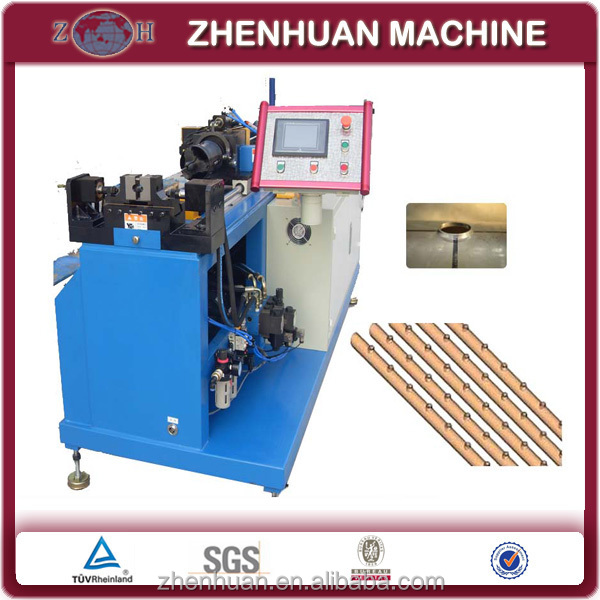 NC collaring machine for round stainless steel pipe