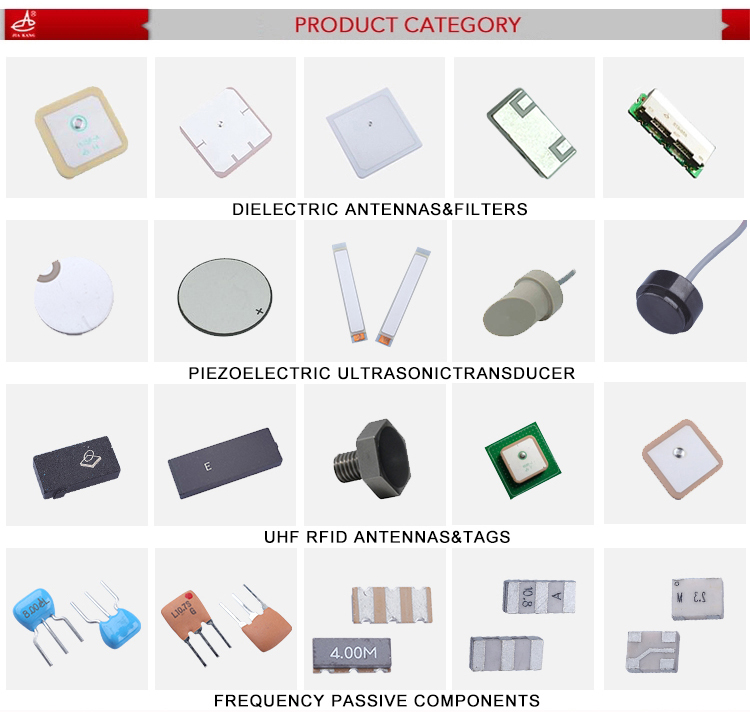 1MHz Piezoelectric Ultrasonic Ceramic Transducer Element for Beauty Device