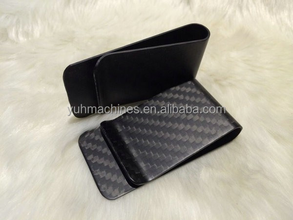 Fashion Carbon Fiber Money Clip/Carbon Fiber High-Grade Wallet