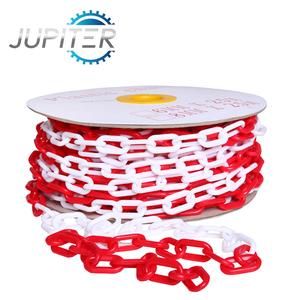 Customized dependable PE material traffic safety 3mm plastic chain