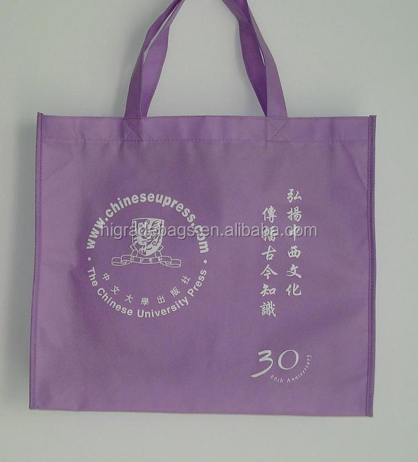 non-woven gift shopping bag with logo customed