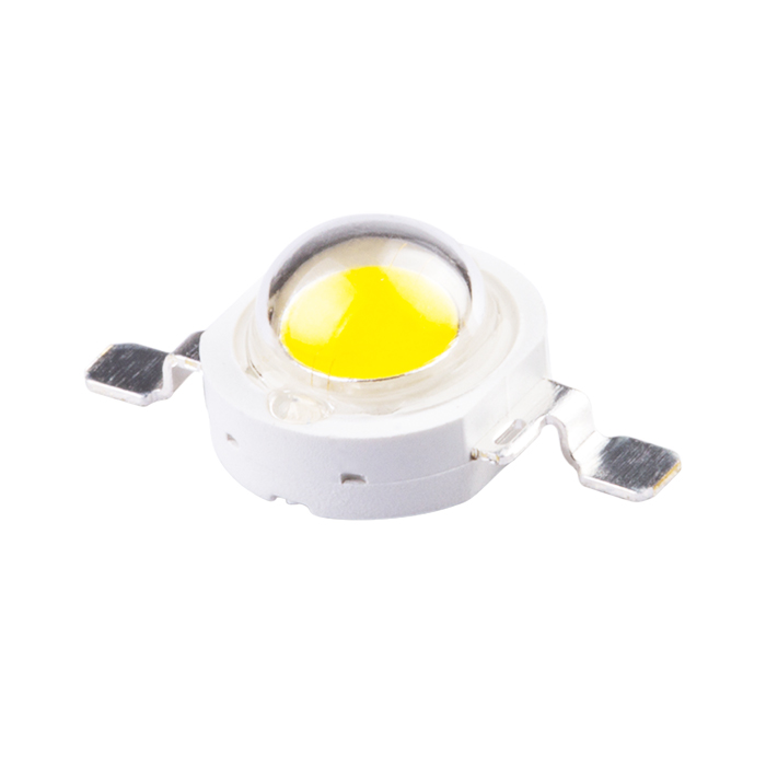 China supplier pure white 240-260lm 1 watt high power led chip for street light