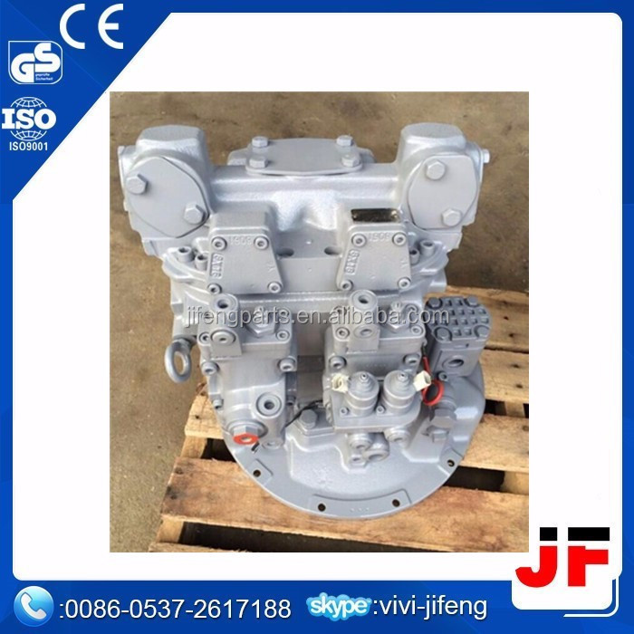 HPV102 excavator hydraulic pump parts ,cylinder block rotor, piston, valve plate for EX200-5