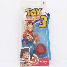 2 estilos seleccionables Toy Story 3 Woody Sheriff + Buzz Lightyear PVC figura  Juguetes envío libre e8bebb35d59