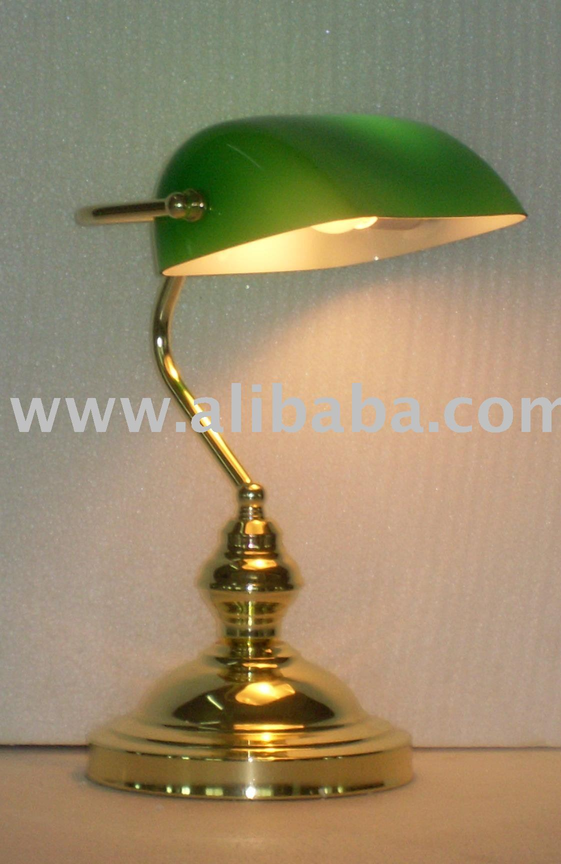 Banker Lamp/bank Lamp /bank Table Lamp/ Table Lamp/home Lamp ...