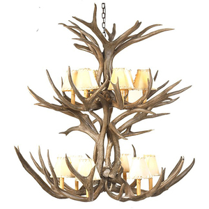 man cave Whitetail Antler Chandeliers rustic Whitetail Antler Chandeliers western Whitetail Antler Chandeliers