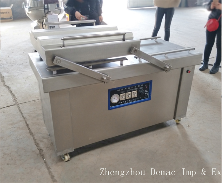 Hot sale vacuum former/bacon packing machine