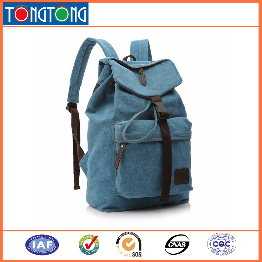 Wholesale china dongguan korean style drawstring backpacks