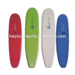 EPS foam high quality water sports softboards display soft board Vaccum bagged soft surfboard