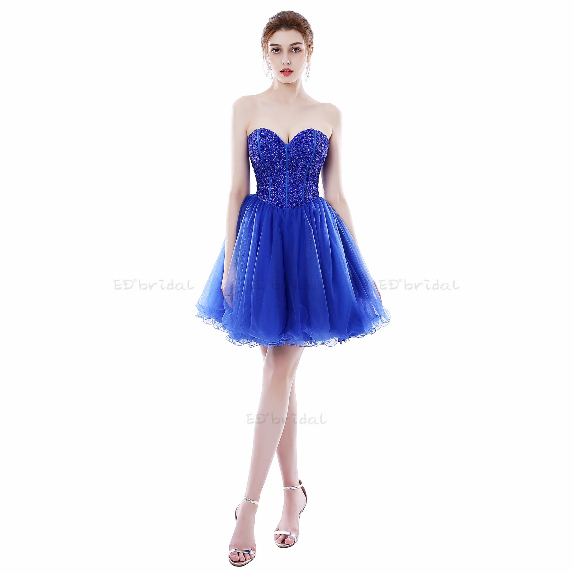 Blue Cocktail Dresses 2018