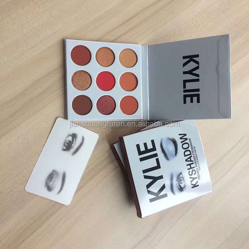 2017 certified professional fashion cosmetics Kylie Eyeshadow Palette