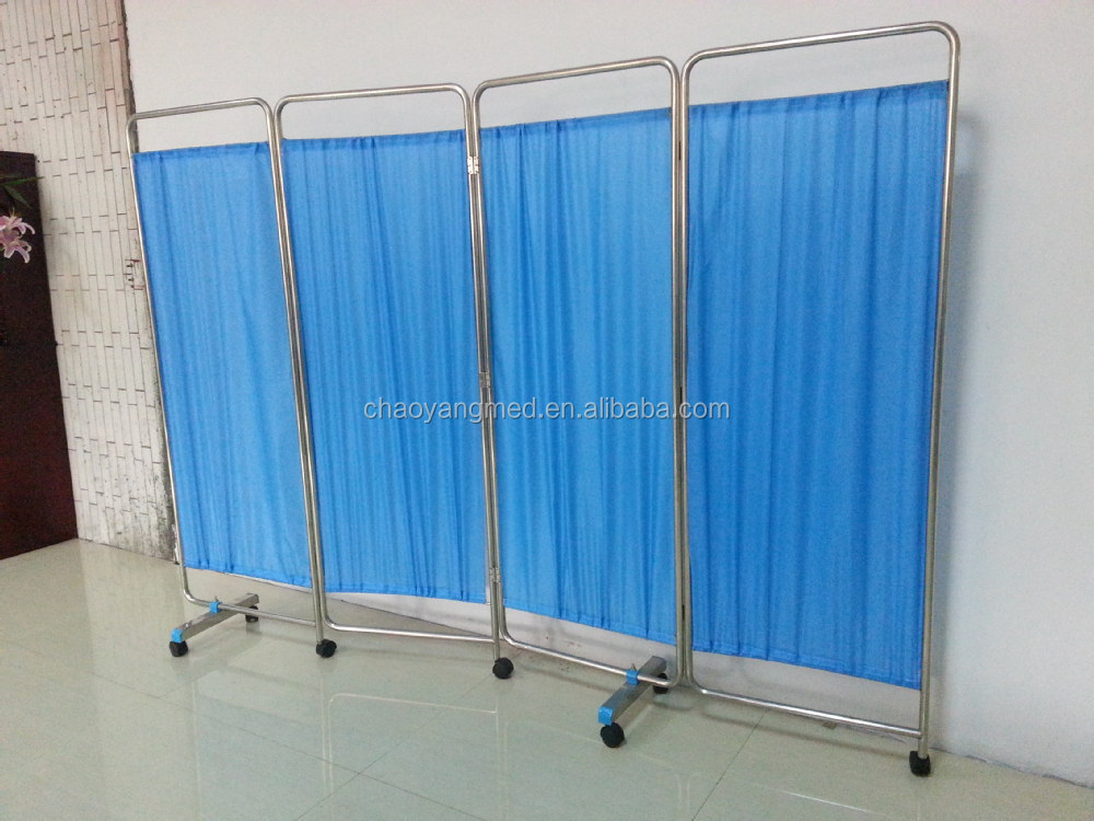 Hospital equipment cheap folding screen room divider buy for Cheap decorative screens
