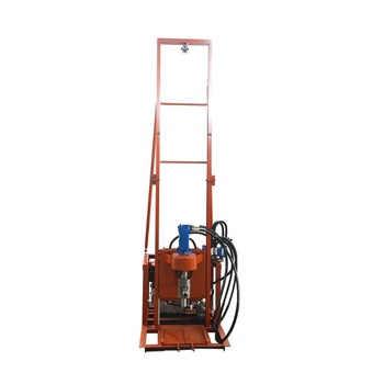 Factory supply hydraulic lift diesel water well drilling machine